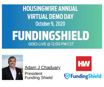 President Adam J. Chaudhary at HousingWire's Demo Day